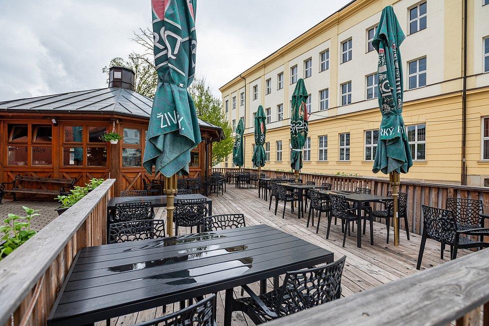 Restaurace Pohoda v centru Trutnova.