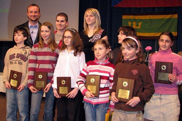 Nejlepší sportovci Úpice za rok 2007.