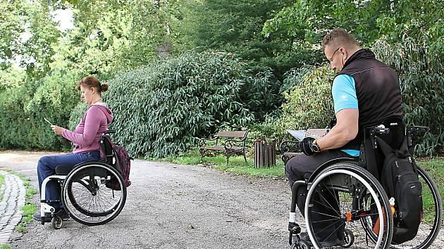 V Přeboru Krkonoš závodili hlavně vozíčkáři