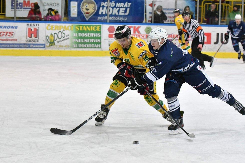 Hokejisté Dvora Králové nad Labem si v podkrkonošském derby hladce poradili s rivalem z Trutnova.