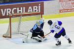 Vrchlabští hokejisté a hráči Dvora Králové dokázali v 8. kole uspět na domácím ledě.