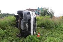 Dopravní nehoda v Prostředním Lánově
