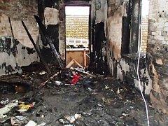 Od přímotopu vyhořel dětský pokoj v rodinném domě