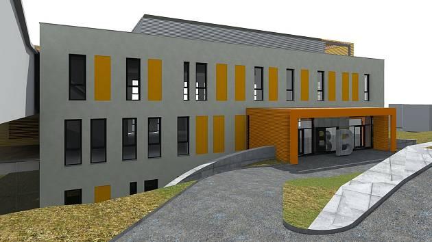 V areálu trutnovské nemocnice vznikne nová budova pro transfúzní oddělení, hematologickou laboratoř a oddělení nukleární medicíny.