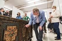 Ministr životního prostředí Richard Brabec ve středu otevřel ve Vrchlabí nový depozitář Krkonošského muzea Správy KRNAP.