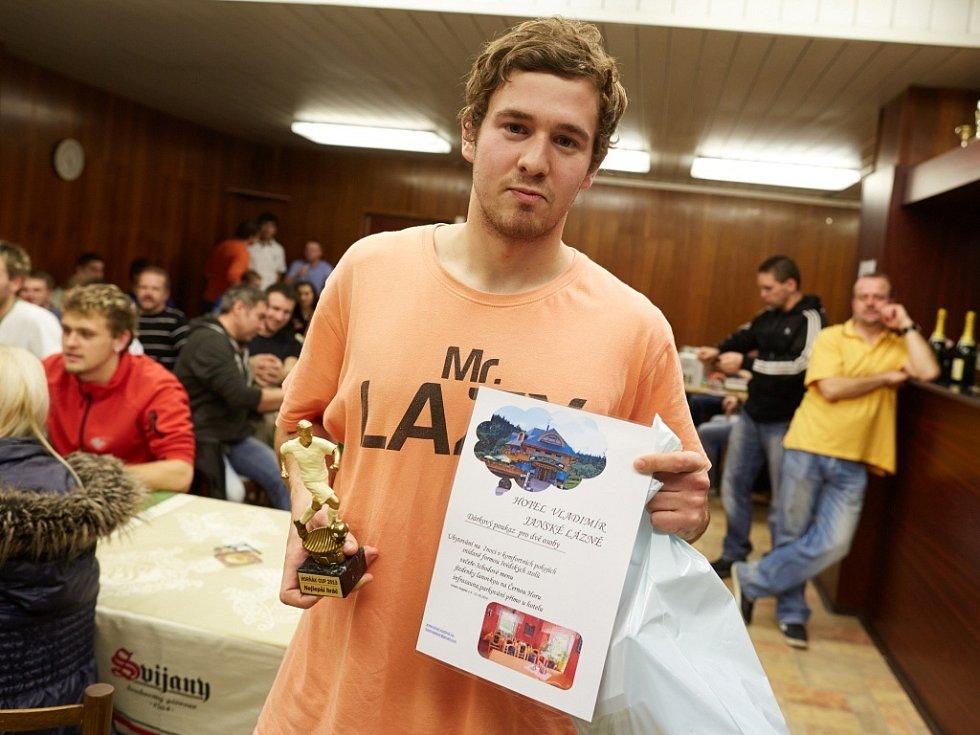 Horňák cup 2013 - Adam Chromek, nejlepší hráč turnaje