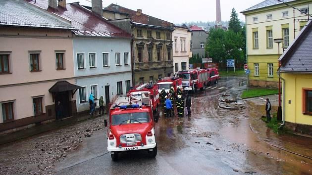 Povodně, Trutnovsko: Hostinné
