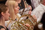 Koncert 1. trutnovského symfonického orchestru v Uffu.