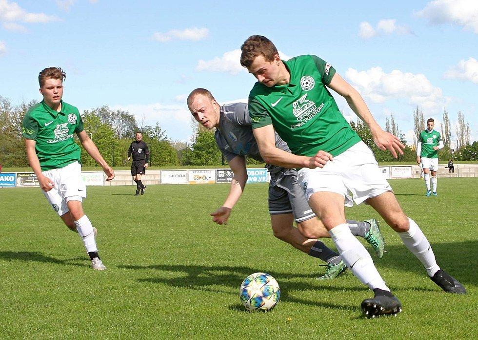 Vrchlabští fotbalisté v přípravě porazili divizní Velké Hamry 5:3.