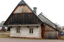 Historická roubenka v Hajnici