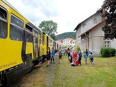 JEDINÝMI CESTUJÍCÍMI na železniční trati do Královce byli v posledních letech žacléřští školáci, kteří jednou ročně vyrazili na tématickou akci do Polska.