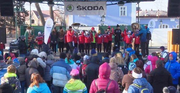Malí olympionici zVrchlabí na pódiu