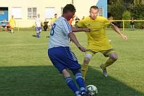 V utkání s Libčí potkal Karel Špidlen řadu svých vrstevníků.