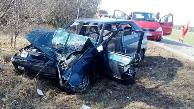 Ze smrtelné nehody v Kocbeřích.