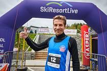 Robert Hurdálek z Lokomotivy Trutnov vyhrál maraton NaHoruRun, který vedl z trutnovského stadionu na Černou horu a dolů do Janských Lázní.