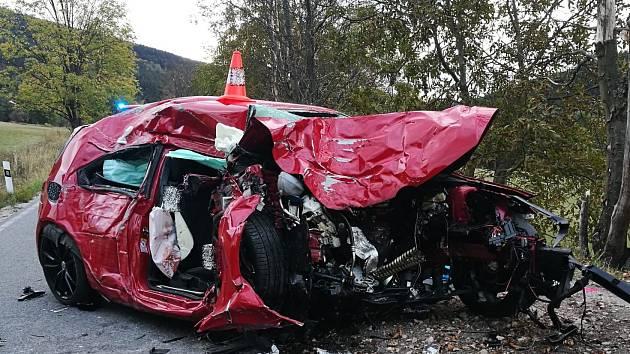 Smrtelná nehoda v Janských Lázních.