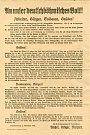 Dokument provincie Deutschböhmen z 2. listopadu 1918.