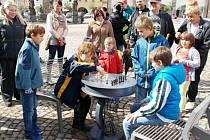 Šachový stolek ve Dvoře Králové