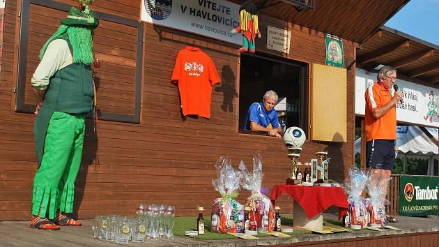 Fotbalový turnaj hráčů nad 40 let čeká v Havlovicích již 26. ročník.