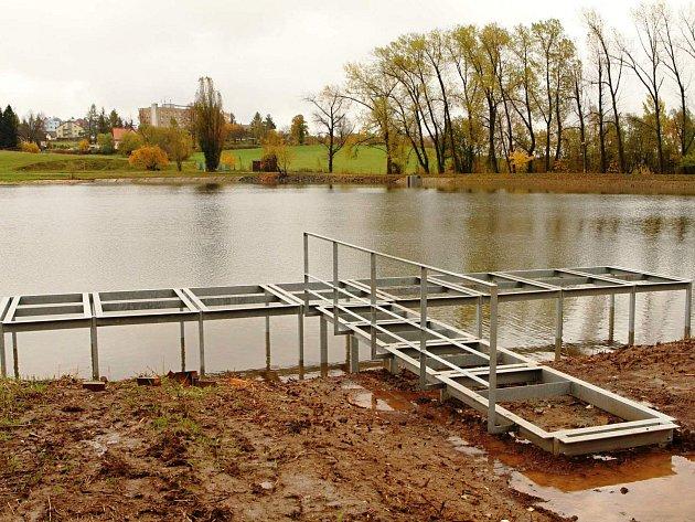 Napuštěný rybník zachránil běžkaře