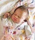 NATÁLIE STEJSKALOVÁ se narodila 31. října v 17.26 hodin Radce Novotné a Janu Stejskalovi. Vážila 3,66 kilogramu a měřila 17.26 centimetrů. Doma ve Vrchlabí čeká i bráška Tadeášek.