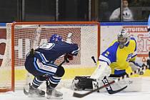 Vrchlabští hokejisté si hravě poradili s Ústím (6:0).