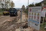 Tudy neprojedete. Ve Dvoře Králové probíhá rekonstrukce silnice Dvůr Králové nad Labem - Kocbeře v úseku od čerpací stanice po odbočku na Vítěznou.