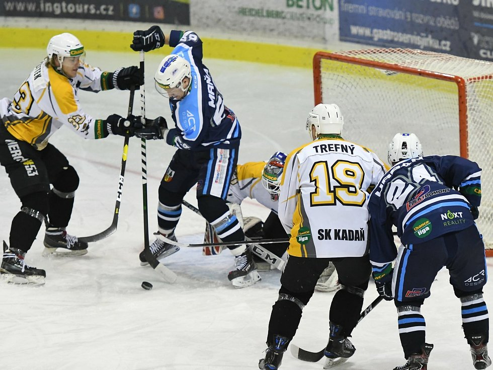 Vrchlabští hokejisté nasázeli do sítě Kadaně sedm branek. Sami inkasovali čtyřikrát.