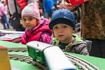 Den železnice v trutnovském depu.