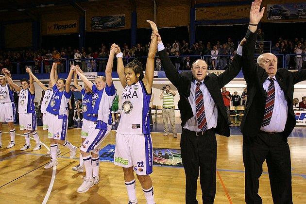 Trocal ŽBL, 2. zápas série o třetí místo: Kara Trutnov - Valosun Brno.