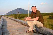 Bývalý poslanec a současný ředitel Správy KRNAP Robin Böhnisch získal Vavrouškovu cenu za významný ekologický počin.