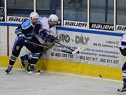 Vrchlabští hokejisté prohráli souboj na ledě jabloneckých Vlků 5:6.