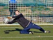 Fotbalisté Trutnova v podzimní derniéře přestříleli Velké Hamry 5:2. Hattrickem se blýskl Matějka.