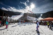 Skiareál ve Špindlerově Mlýně s velkým úspěchem organizoval letos v březnu Světový pohár lyžařek. Další by mohl pořádat za čtyři roky.