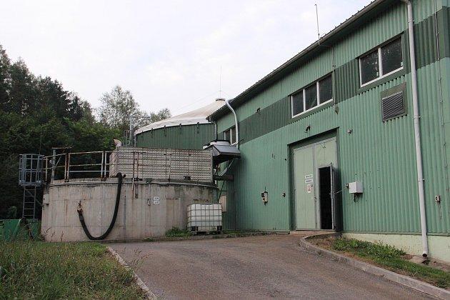Vedoucí Bioplynové fermentační stanice Josef Sedláček.