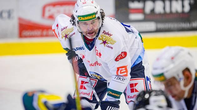 Ve středečním programu Chance ligy přívítají vrchlabští hokejisté Jágrovo Kladno.