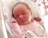 TEREZA KLUBRTOVÁ se narodila 26. listopadu ve 21.40 hodin rodičům Veronice a Josefovi. Vážila 3,5 kg a měřila 50 cm. Spolu s bráškou Ondřejem bydlí v Dobrušce.