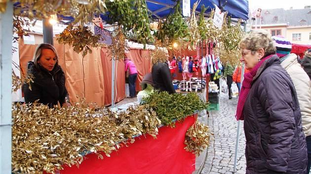 Jilemnický vánoční jarmark 2013