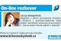 On-line rozhovor s Evou Noskovou
