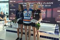 Martina Elhenická si vedla nadmíru úspěšně na mistrovství ČR v Českých Budějovicích.