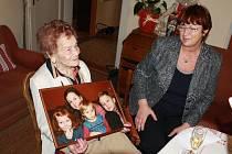 Vítala Masaryka, miluje klobásy. Nejstarší občanka Trutnova slavila 105 let