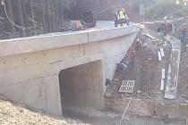 Semily a Železný Brod od neděle opět spojí most.