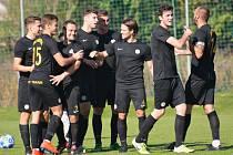 Přepeřští fotbalisté slaví. Po roce si znovu zahrají druhé kolo MOL Cupu.