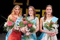 Vavříny vítězství si odnesly: Miss Barbora Škopová, I. Vicemiss  Barbora Zámečníková a II. Vicemiss Eva Krejčová.