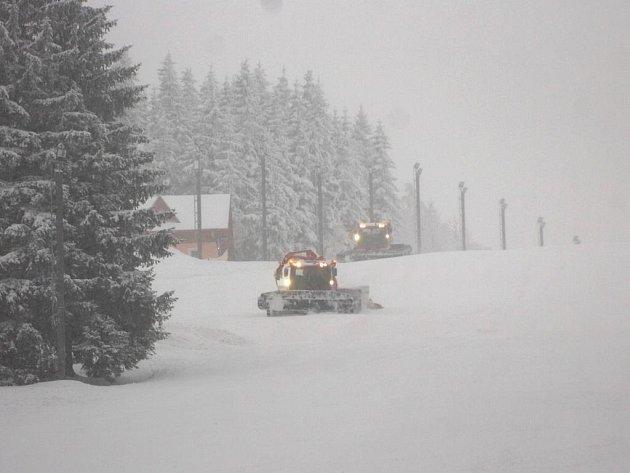 Pec pod Sněžkou - leden 2010