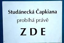Studánecká Čapkiana v Malých Svatoňovicích
