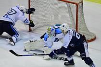 Z hokejového derby Vrchlabí - Trutnov (0:3)