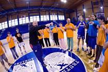 Basketbalistky připravily trénink pro kamarády ze stacionáře