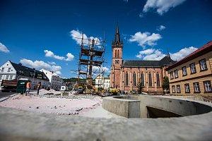 Rekonstrukce náměstí ve Vrchlabí