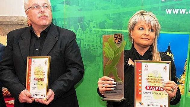 První polsko-česká podnikatelská cena zamířila do společnosti Kasper Group